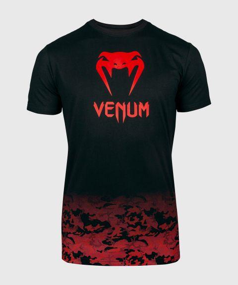T-shirt Venum Classic - Noir/Rouge