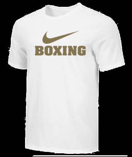 T-Shirt d'entraînement Nike - BOXING - Blanc