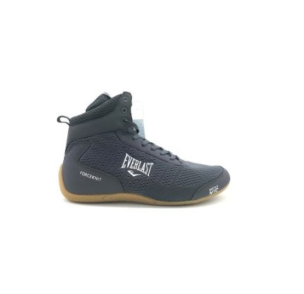 Chaussures de boxe hautes Everlast Forceknit - Gris