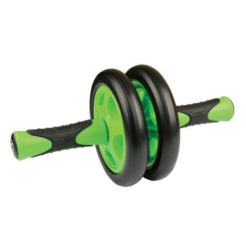 Roue abdominale (Ab Wheel) Fitness Mad - Vert/Noir