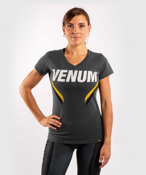 T-shirt Venum ONE FC Impact - pour femme - Gris/Jaune