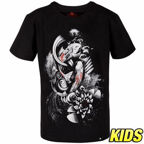 T-shirt Enfant Venum Koi 2.0 Kids - Noir