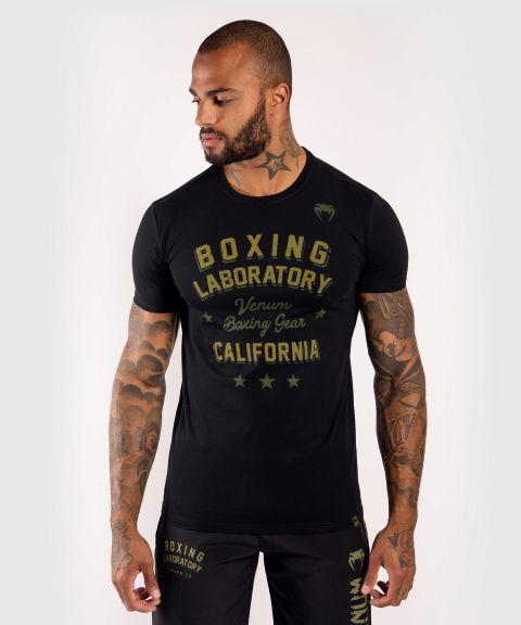 T-Shirt en coton Venum Boxing Lab - Noir/Vert