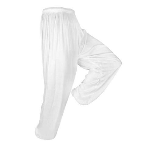 Pantalon de Tai-Chi Training Fuji Mae - Blanc
