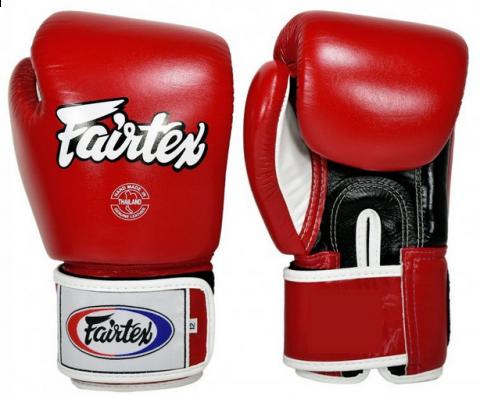 Gants de Boxe Fairtex FXV1 - Rouge