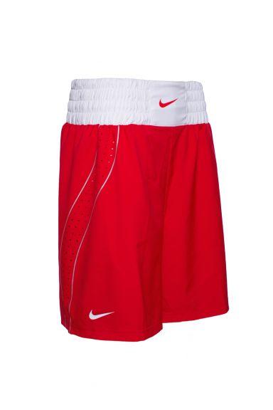 Short de Boxe Nike - Rouge/Blanc