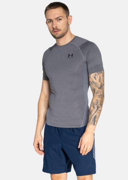 T-shirt Under Armour HeatGear® Armour - Manches Courtes - Gris