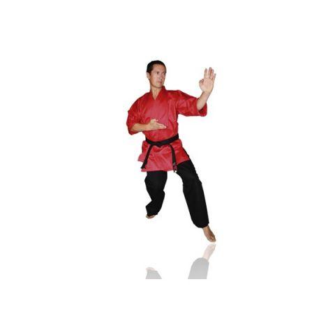 Kimono de self-defense Fuji Mae - Veste Rouge / Pantalon Noir