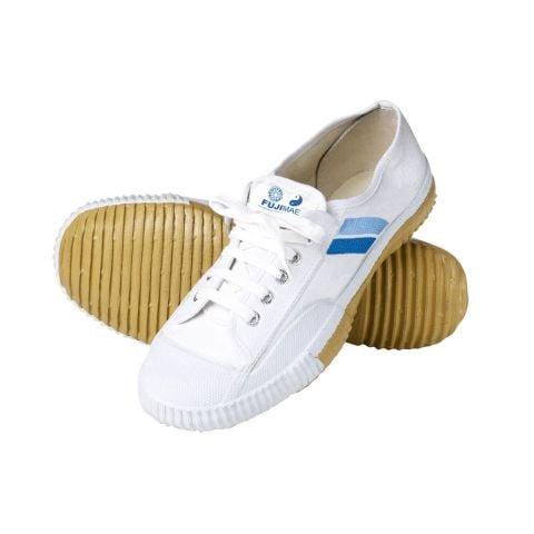 Chaussures de Kung-Fu Wushu Shaolin Fuji Mae - Blanc