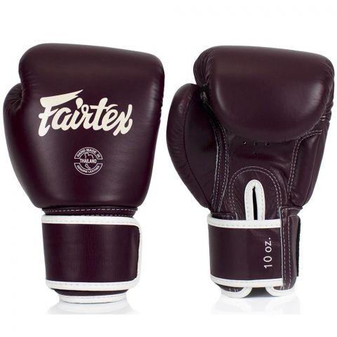 Gants de boxe Fairtex FXV16 - Bordeaux