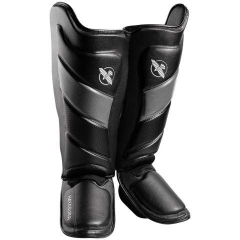 Protège-tibias Hayabusa T3 - Noir/Gris