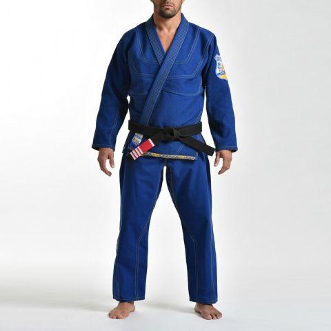 Kimono JJB Grips Cali 99 - Bleu