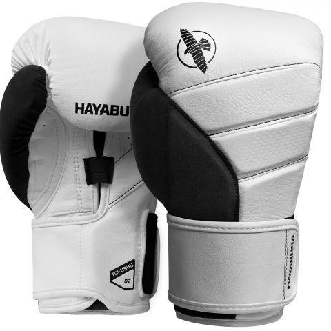 Gants de boxe Hayabusa T3 - Blanc/Noir