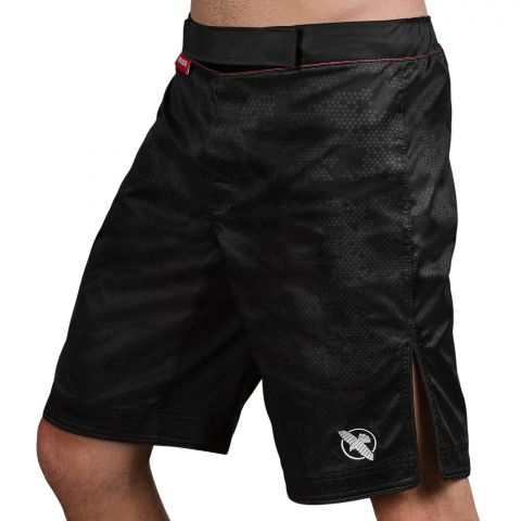 Fightshort Hayabusa Hexagon - Noir