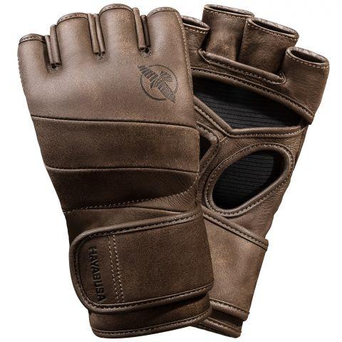Gants de MMA Hayabusa T3 Kanpeki - 4oz - Marron