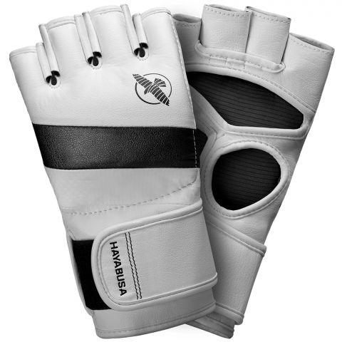 Gants de MMA Hayabusa T3 - Blanc/Noir
