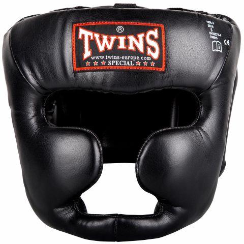 Casque de boxe Twins - Noir