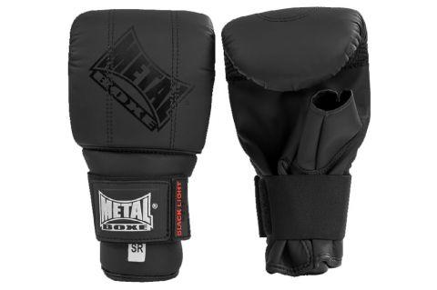 Gants de sac Enfant Metal Boxe Black Light - Noir