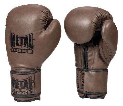 Gants de boxe Entraînement Metal Boxe - Marron