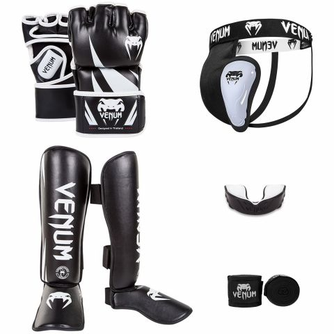Pack Venum MMA Challenger Noir/Blanc 2
