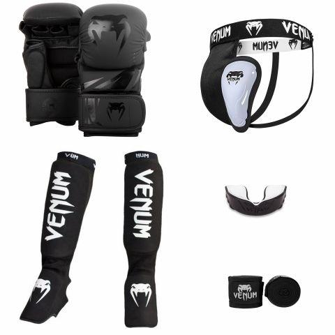 Pack MMA Venum Challenger Sparring V2 - Noir/Noir