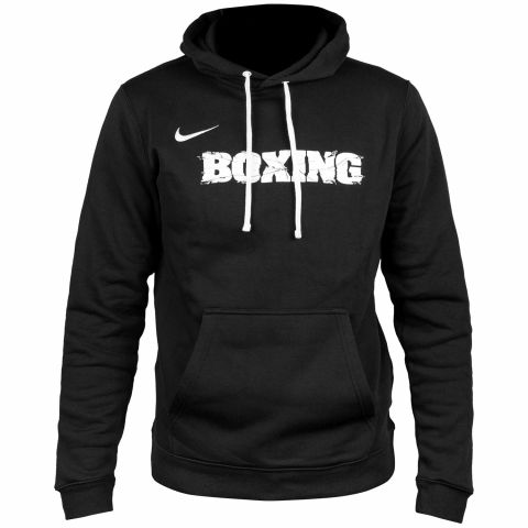 Sweatshirt d'entraînement Nike Boxing - Noir/Blanc