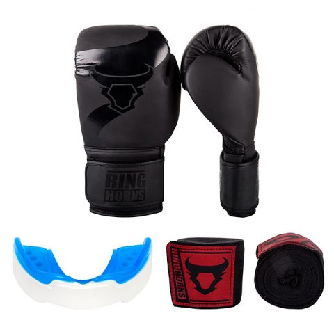 Pack Boxe Ringhorns - Noir