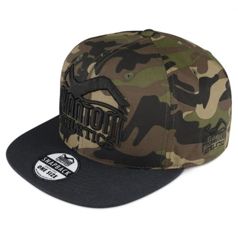 Casquette Phantom Athletics Team - Green Camo/Noir