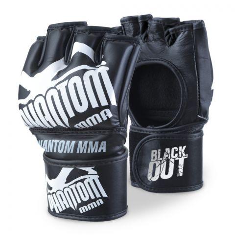 Gants de MMA Phantom Athletics Blackout PU