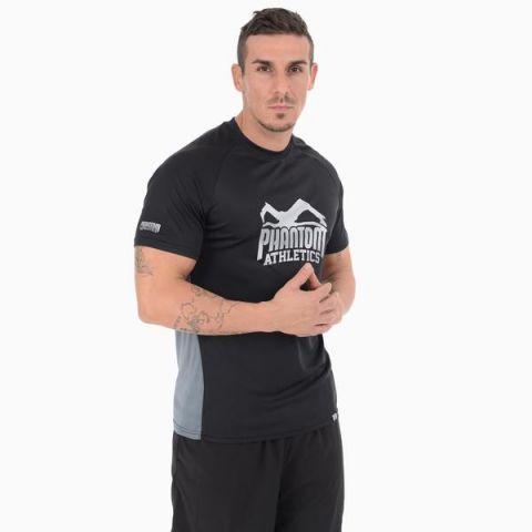 T-shirt Phantom Athletics Stealth - Noir