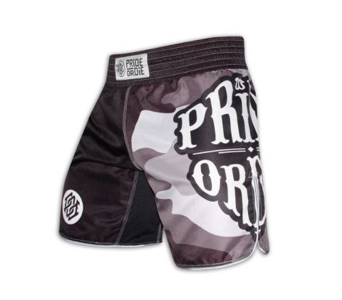 Fightshort Pride or Die Reckless Camo - Noir
