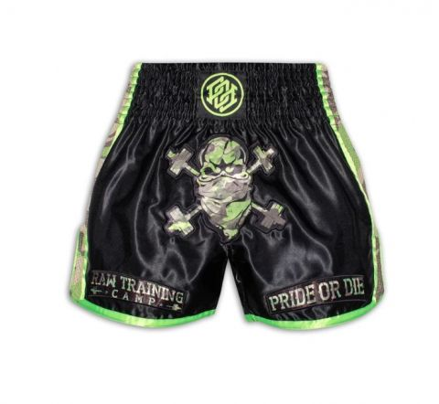 Short de Muay Thai Pride or Die Raw Training