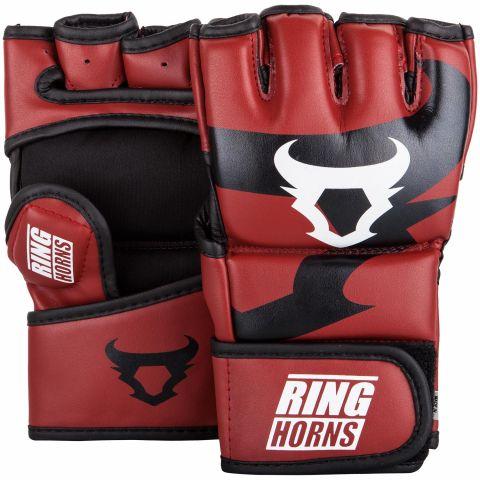 Gants de MMA Ringhorns Charger - Rouge