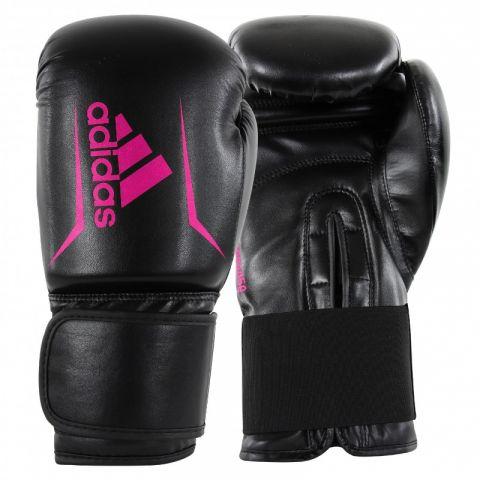 Gants de boxe Adidas Speed 50 - Noir/Rose
