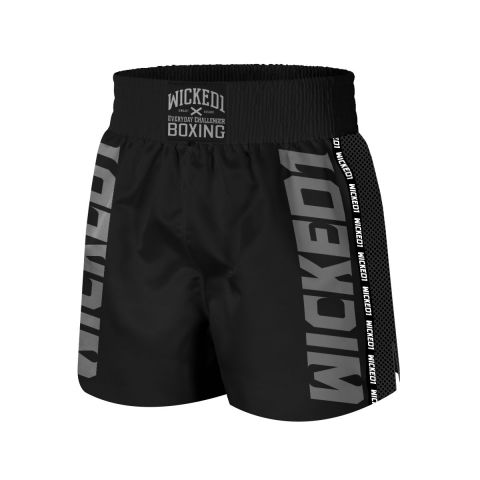 Short de boxe Wicked One - Noir