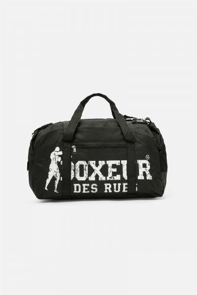 Sac de sport Boxeur des Rues Grand Logo - Noir