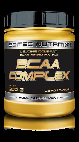 BCAA Complexe Scitec Nutrition - Citron - 300 g