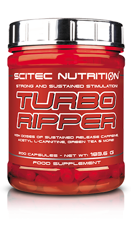 Turbo Ripper Scitec Nutrition - 200 gélules