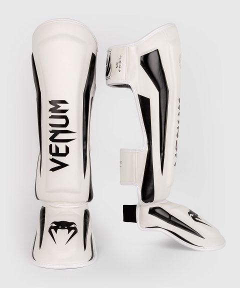 Protège-tibias Venum Elite  - Blanc/Noir