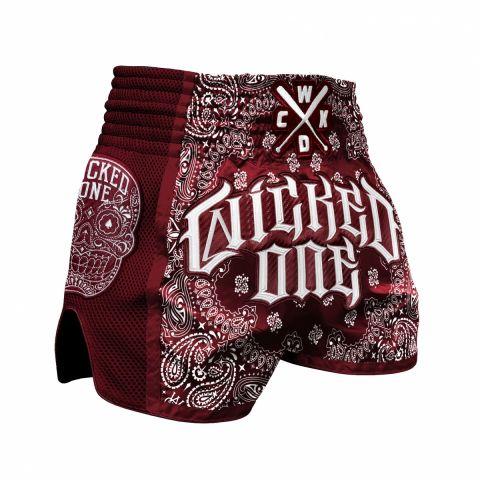 Short de Muay Thai Wicked One O.G - Bordeaux