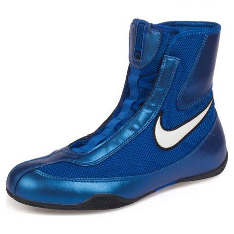 "Chaussures de boxe Nike semi-montantes ""Machomai"" - Bleu"