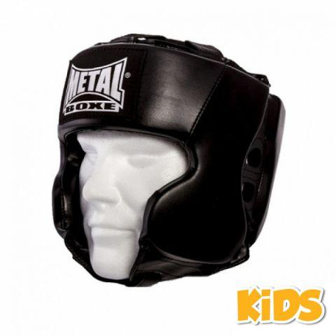 Casque Multiboxe Enfant Metal Boxe - Noir