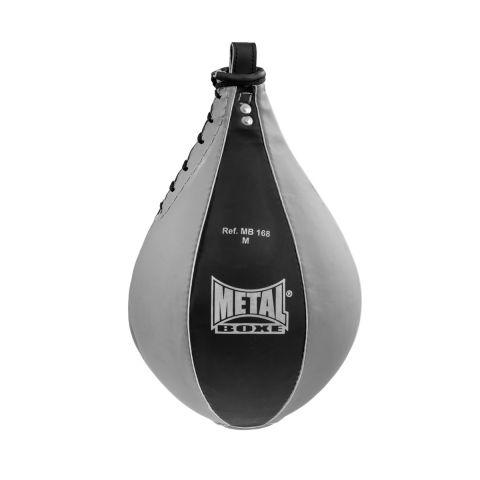 Poire de vitesse Metal Boxe - Noir/Gris