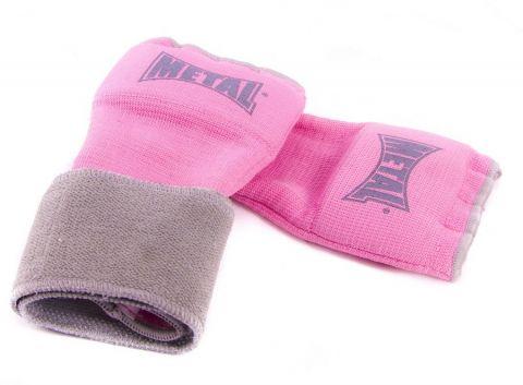 Sous-gants Max Gel Metal Boxe - Rose