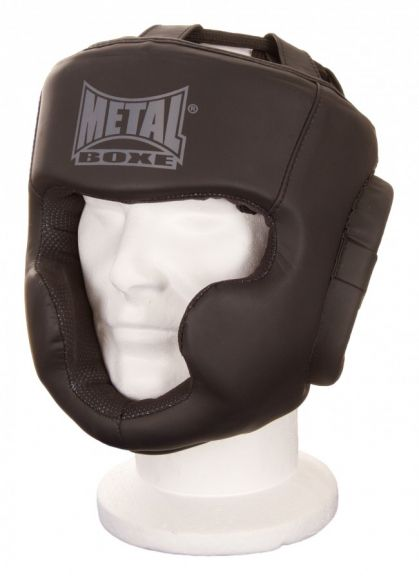 Casque de boxe pommettes et menton Metal Boxe