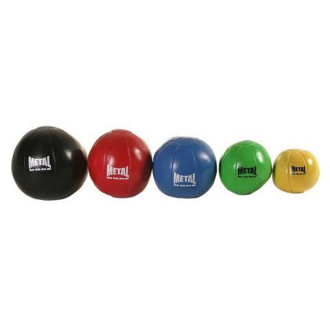Médecine ball Metal Boxe - 2kg/3kg/4kg/5kg