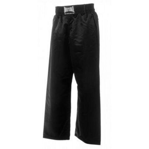 Pantalon Full Contact Metal Boxe - Noir