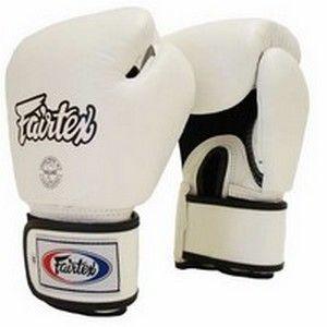 Gants de Boxe Fairtex FXV1 - Blanc