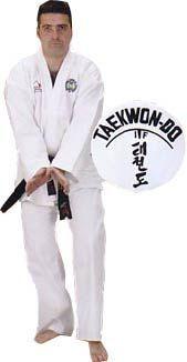Dobok Fuji Mae ITF Master, toile cotelée.