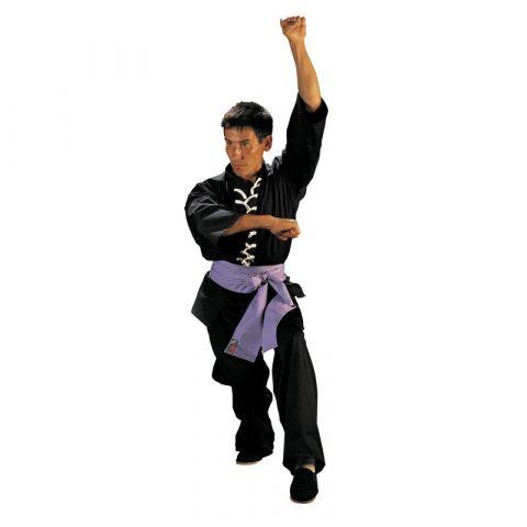 Tenue de Kung-Fu Wu Shu Fuji Mae - Noir